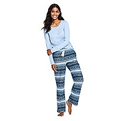 Lands' End - Multi petite printed pyjama set