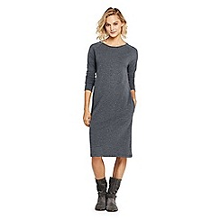 Lands' End - Grey casual sweatshirt dress