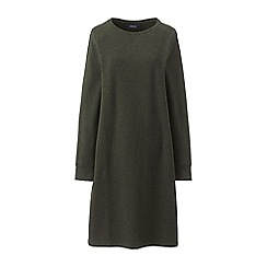 Lands' End - Green casual sweatshirt dress