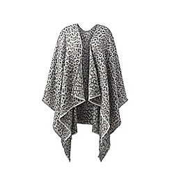 Lands' End - Multi reversible shawl wrap