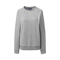 Lands' End - Grey petite french terry sweatshirt