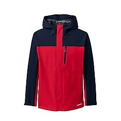 Lands' End - Red Packable Waterproof Jacket