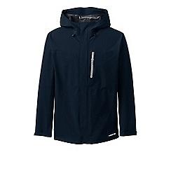 Lands' End - Blue Packable Waterproof Jacket