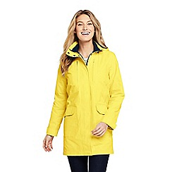 Lands' End - Yellow Squall Lightweight Raincoat