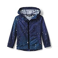 Lands' End - Blue Toddler Kids' Backpack Rain Jacket