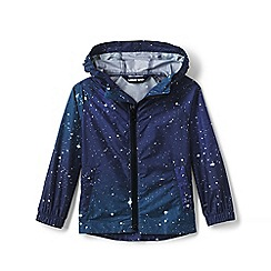 Lands' End - Blue Kids' Backpack Rain Jacket
