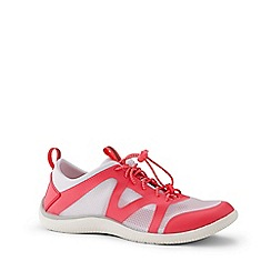 Lands' End - White Wide Water Shoes