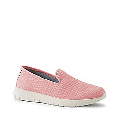 Lands' End - Pink Lightweight Comfort Mesh Slip-On Shoes