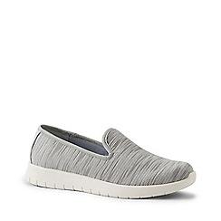 Lands' End - Grey Lightweight Comfort Mesh Slip-On Shoes