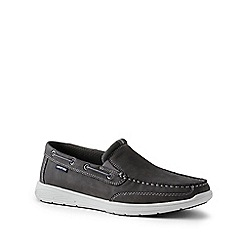 Lands' End - Grey wide lightweight comfort loafers