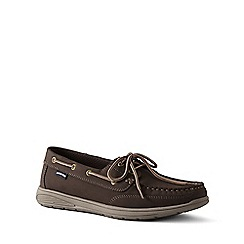 Lands' End - Brown Lightweight Comfort Boat Shoes