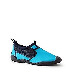 Lands' End - Blue Aqua Socks