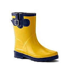 Lands' End - Kids' Yellow Wellies