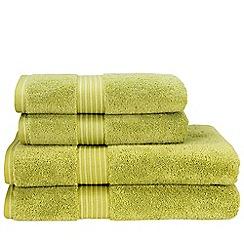 Christy - Green Tea 'Supreme' towels