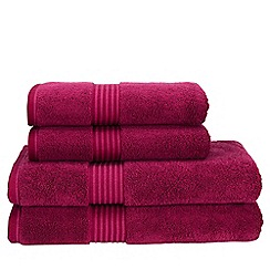 Christy - Raspberry 'Supreme' towels