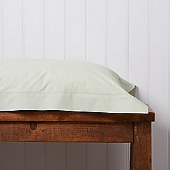 Christy - Green '200 Plain Dye' fitted sheet