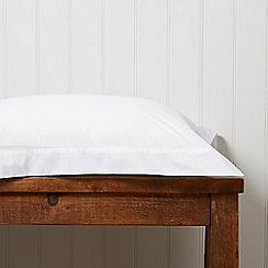 Christy - White '200 Plain Dye' fitted sheet