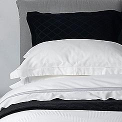 Christy - Black 'Paris'  cotton bedspread