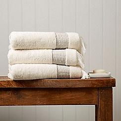 Christy - Linen 'Kasbah' 650gsm cotton mix towel