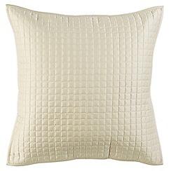 Christy - Pale Stone 'Metropolitan' 300 Thread Count Cotton Pillow Sham