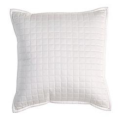 Christy - White 'Metropolitan' cushion