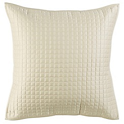 Christy - Pale Stone 'Metropolitan' 300 Thread Count Cotton Cushion