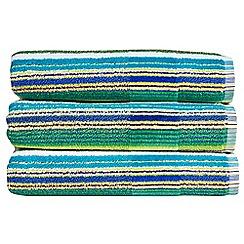 Christy - Jungle 'Prism Stripe' towel