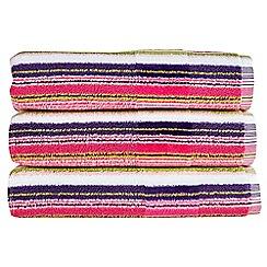 Christy - Eton Mess 'Prism Stripe' towel