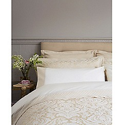 Christy - Gold 'Palace' Oxford pillowcase pair