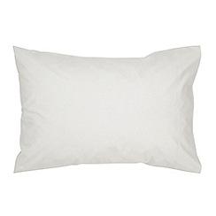 Christy - White '400 TC Sateen' pillowcase pair