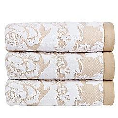 Christy - Chalk 'Adlington' towel