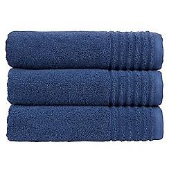 Christy - Navy 'Adelaide' towel