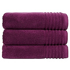 Christy - Aubergine 'Adelaide' towel
