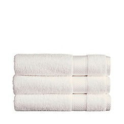 Christy - White 'Rialto' towels