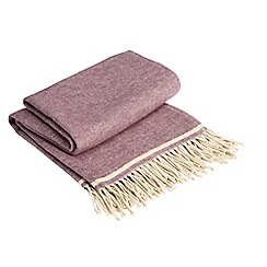 Christy - Fig 'houghton' throw