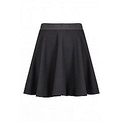 Quiz - Black skater skirt