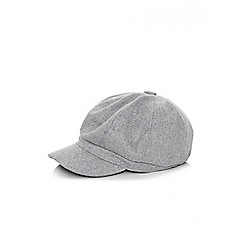 Quiz - Grey baker boy hat