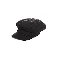 Quiz - Black baker boy hat