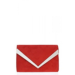 Quiz - Red thick plated bag