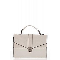 Quiz - Grey satchel bag