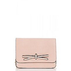 Quiz - Pink bow cross over bag