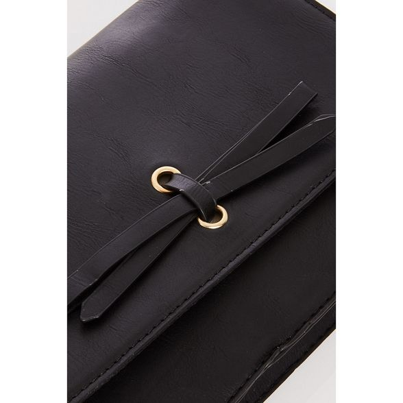 over bow cross bag Black Quiz xwSqtvO