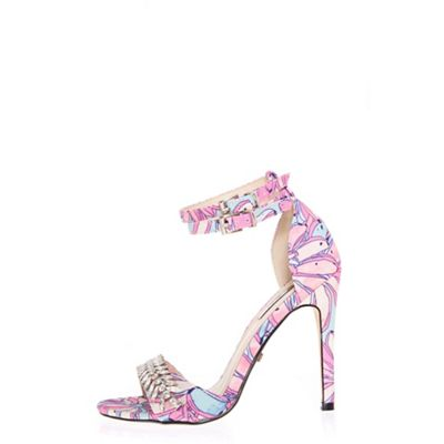 Quiz - Multicoloured pastel strap sandals