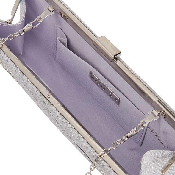 Quiz clip glitter Silver bag shimmer TOT7r