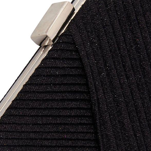 glitter bag shimmer Black clip Quiz URxf7qwqH