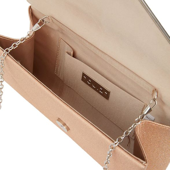 Rose clutch shimmer Quiz gold envelope bag xW1SzwqOnw