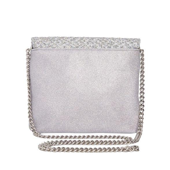 chunky glitter Silver chunky Silver glitter Quiz bag Quiz glitter chunky Silver Quiz bag q4ZF04w