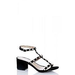 fa9ed513bfe Block heel - T-bar sandals - Quiz - Shoes   boots - Women