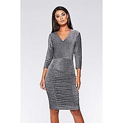 b18a861de5c8 silver - Bodycon dresses - Quiz - Women | Debenhams