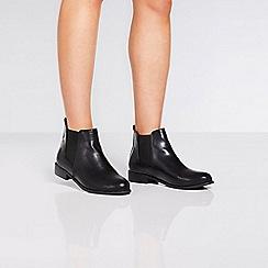 Quiz - Wide fit diamante chelsea ankle boots
